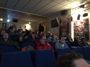 Cinéma de Talloires pour l'AG des Chamois Volants.