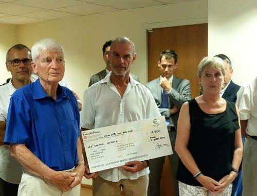 Merci à la fondation Caisse d'Epargne Rhônes-Alpes