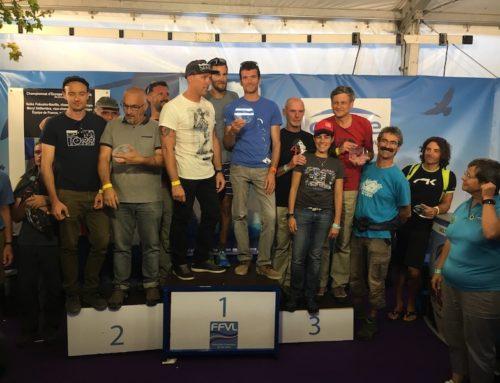 Remise des trophées FFLV à la coupe Icare 2018