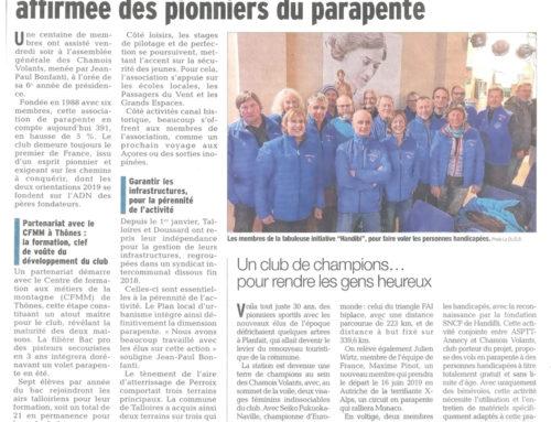 Les Chamois Volants : la maturité trentenaire affirmée des pionniers du parapente | Le Dauphiné Libéré