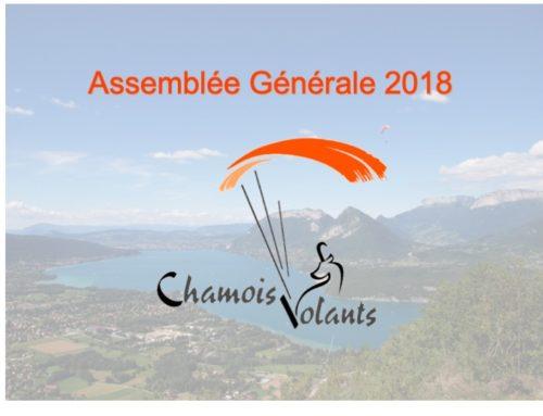 AG Chamois volants 2018 – 11 janvier 2019