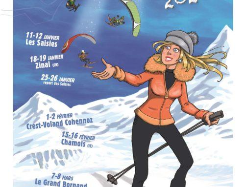 Vol et ski – Grand Bornand (7-8/03/20)