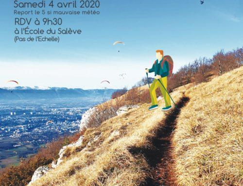 Marche & Vol Interclub du Salève 4 avril