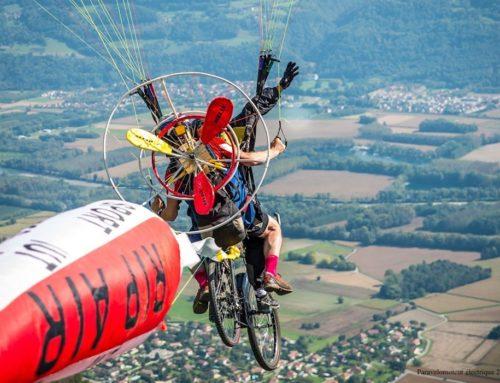 Les Chamois volants participent au concours de déguisement de la Coupe Icare 2020