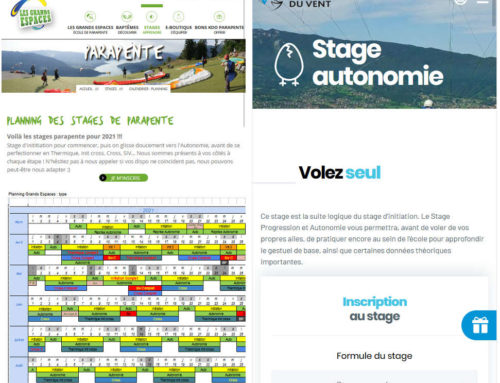 Stages Chamois Volants 2021