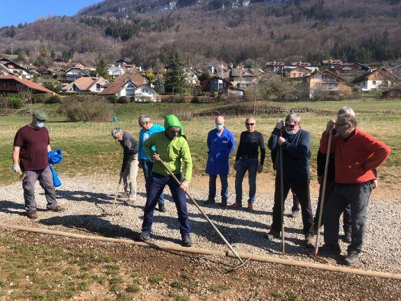 Talloires Perroix nettoyage2 mars21